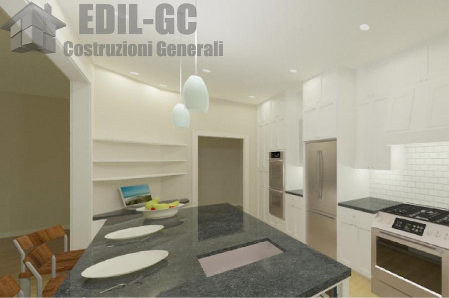 Idee per la casa proposte per il cartongesso - Cucina in cartongesso ...