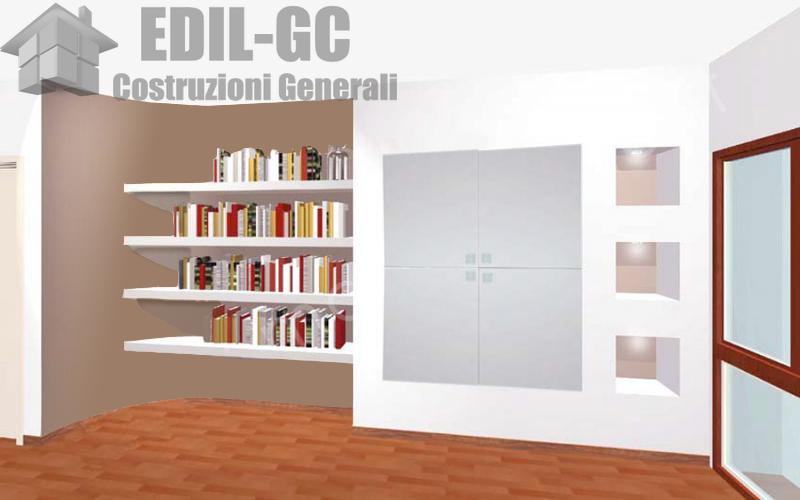 Idee per la casa proposte per il cartongesso for Pareti sala in cartongesso